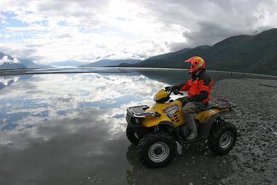 The Knik Valley in Alaska on September 3, 2003. 1/250th at f8.
