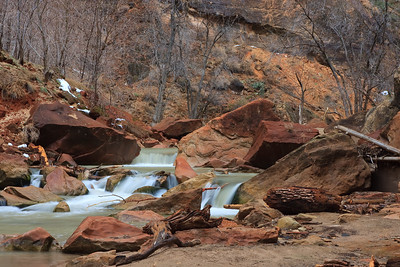 Virgin River, North Fork, Zion NP