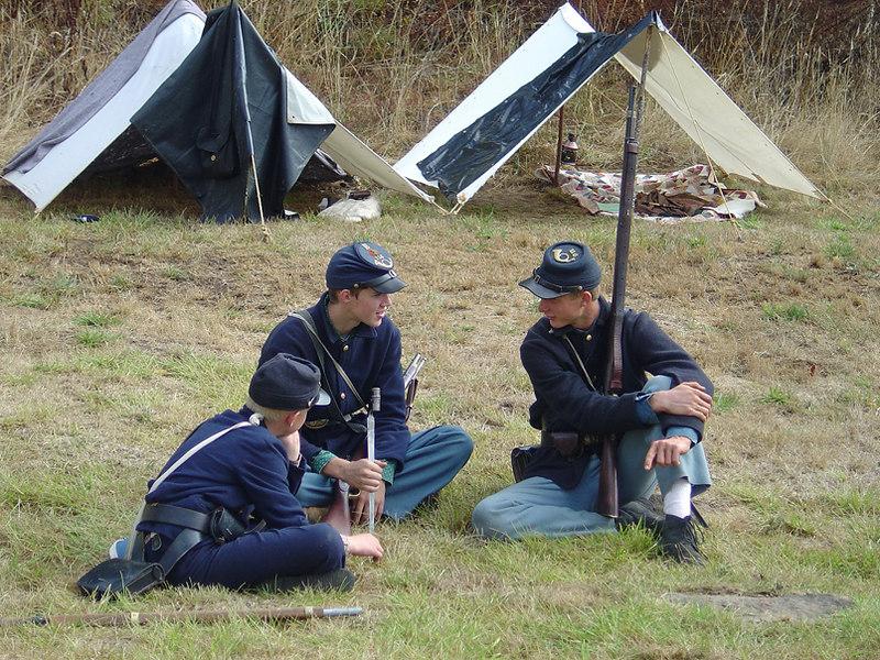 Civil War era, Fort Hoskins, Oregon