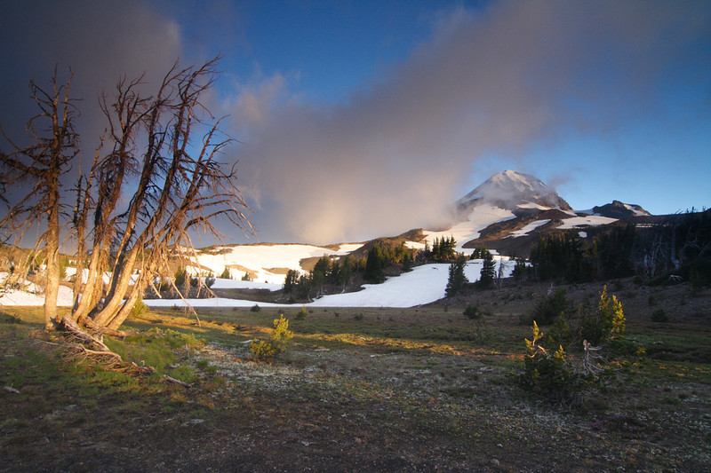 Oregon Cascades, Three Sisters Wilderness, Middle Sister