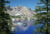 Crater Lake National Park, July 2007<br /> View from Phantom Ship Overlook