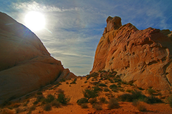 Valley of Fire State Park, Nevada<br /> November 2007