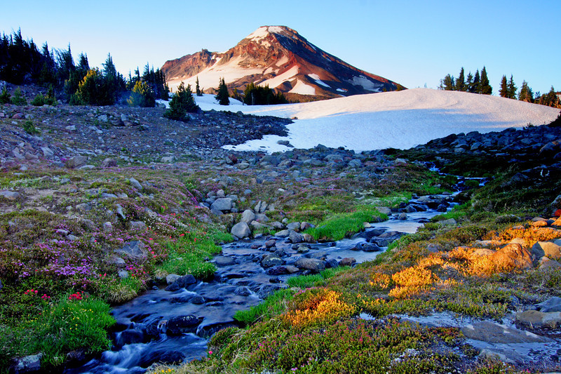 Oregon Cascades, Three Sisters Wilderness, South Sister