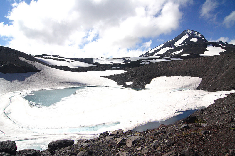 Oregon Cascades, Three Sisters Wilderness, Chamber Lakes, Middle Sister