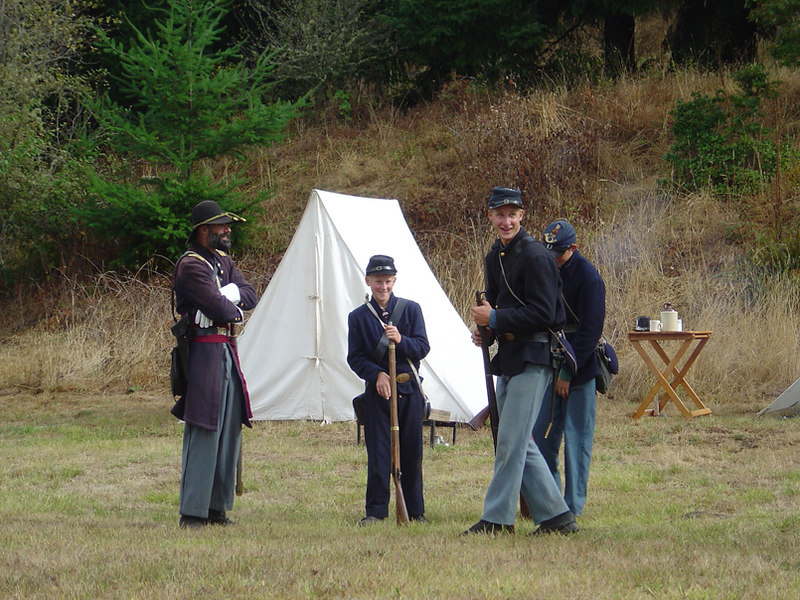 Civil War era, Fort Hoskins, Oregon