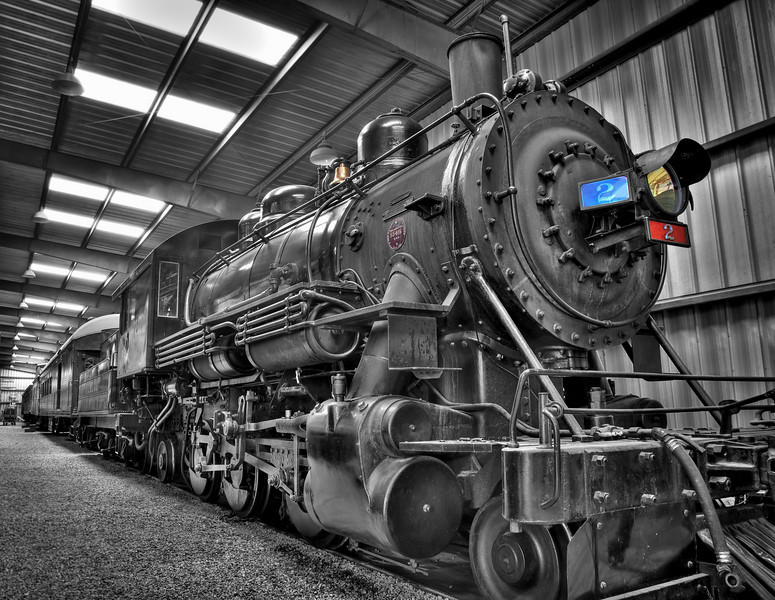 Engine #2: Baldwin 2-6-2 #55415, 1922