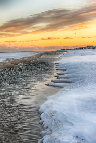 Sunset Foam