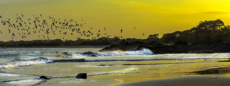 Sunset at Playa La Garita