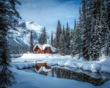 An idylic setting