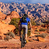 Red rock riding, Moab, Utah