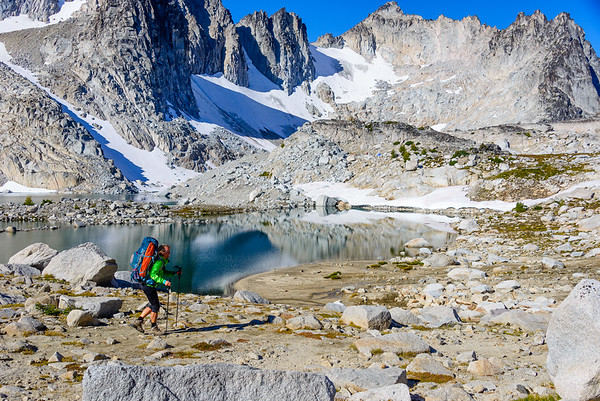 Backpacking the Enchantments Wilderness, Washington