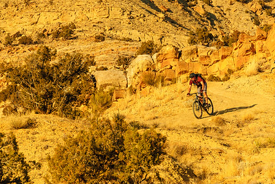 Late afternoon ride, Fruita, Colorado