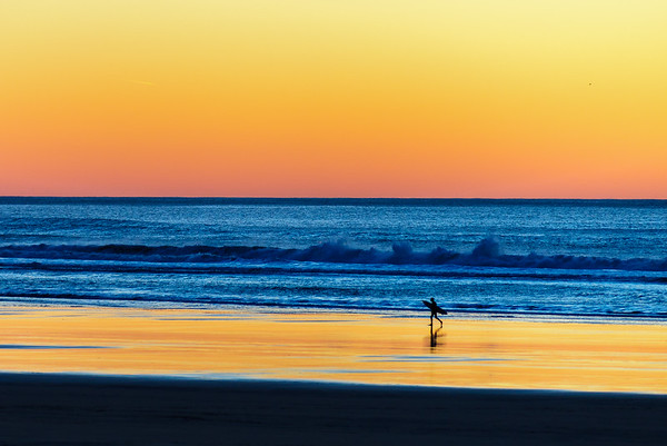 Heading home after a sunset session, Oregon Coast