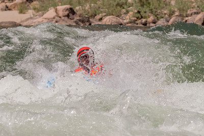 Dropping in. Middle Fork Salmon River, Idaho