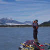 Bear spotting on the Alsek River, Alaska