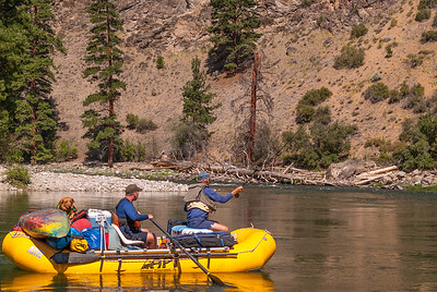 August trip on the Middle Fork of the Salmon River, Idaho