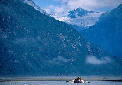 Quiet float on the Alsek River, Yukon / Alaska