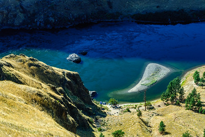 Camp, Hells Canyon, Idaho