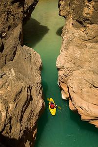 Exploring the Little Colorado, Grand Canyon, Arizona
