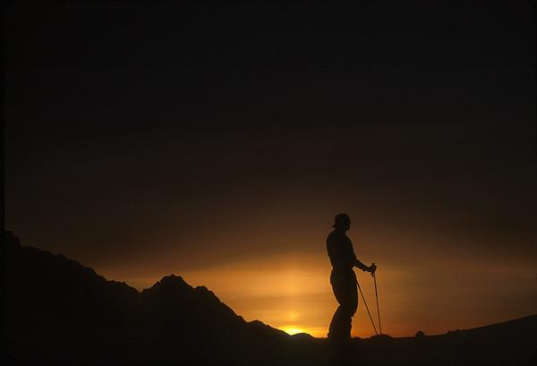 Sunrise on Mt Shuksan, Cascades, Washington