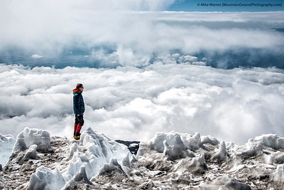 Above the clouds, Mt. Adams