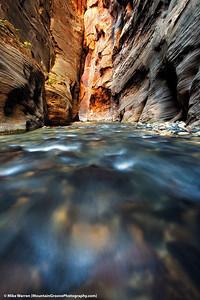 Virgin Narrows, Zion National Park, UT