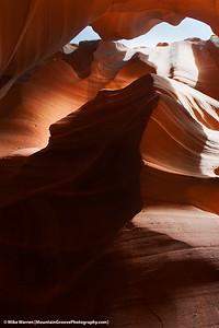 Wolf, Antelope Canyon, AZ