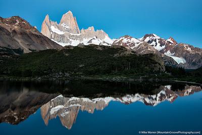 Mte. Fitzroy & Laguna Madre, Patagonia, Argentina