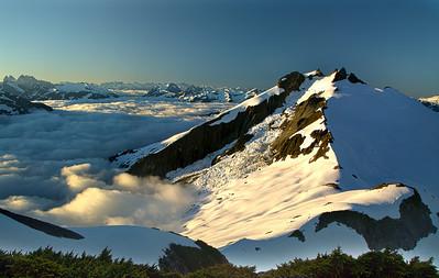 Icy Peak, North Cascades NP, WA