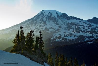 Campsite with a view, Mt. Rainier NP, WA