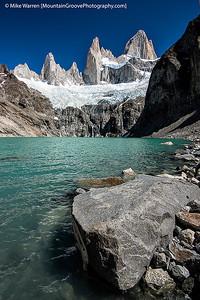 Cerro Torre from Laguna Torre, Patagonia, Argentina