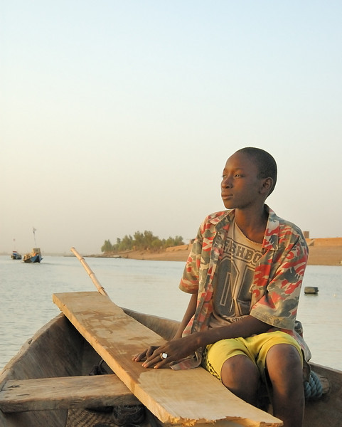 Niger Boat Boy