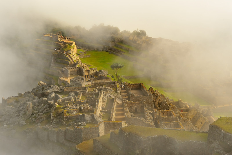 Machu Piccu at sunrise
