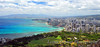 Downtown Honolulu and Waikiki. Yeah, you've seen this view 1,000 times before on postcards, but what makes THIS one special is that I took it. :-)<br /> August 9th, 2010 @ 13:25