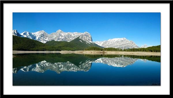pano upper kanaskislake. Ref # UKP-N  Photo © LenScape Photography