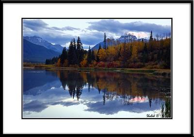 Vermilion Lake.Banff, Alberta.    Ref #5747-M Photo © LenScape Photography