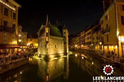 Palais de L'ile in Annecy.