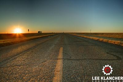 Route 66, Texas.