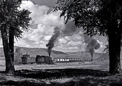 September 1961.  Heading east from Chama.