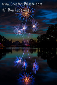 Photo taken July 3, 2015 at the Visalia Country Club - Fireworks show (Note: This one looks great on metallic paper or aluminum)