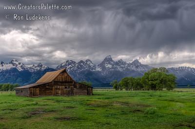 Mormon Row barn - Grant Tetons