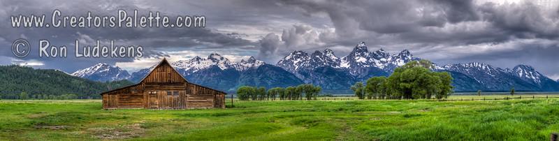 Mormon Row Barn- Grand Tetons