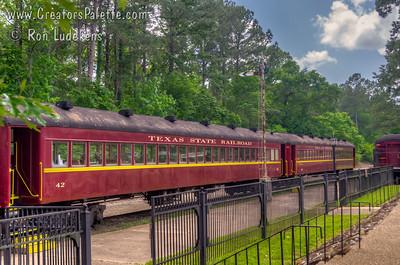 Texas State Railroad Rusk Depot