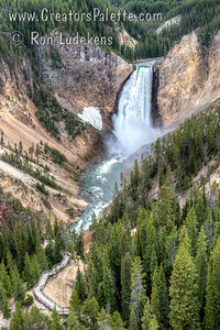 Lower Falls - Yellowstone River