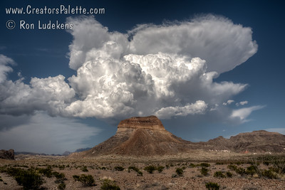 Thunderheads over Big Bend National Park