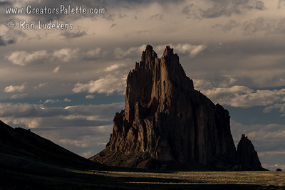 Ship Rock at sunset - New Mexico