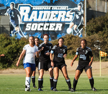 The Moorpark College Lady Raiders hosted the Santa Monica College Corsairs at Moorpark College on Fri., Sept. 21, 2012.