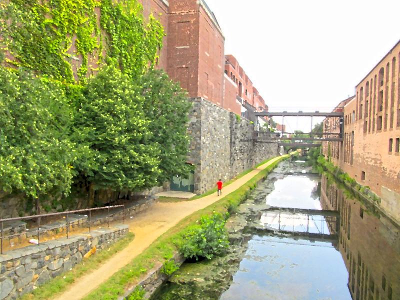 Georgetown, Washington, D.C. Summer 2012 Copyright Sue Steinbrook