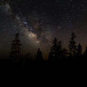 The Milky Way from Bear Valley