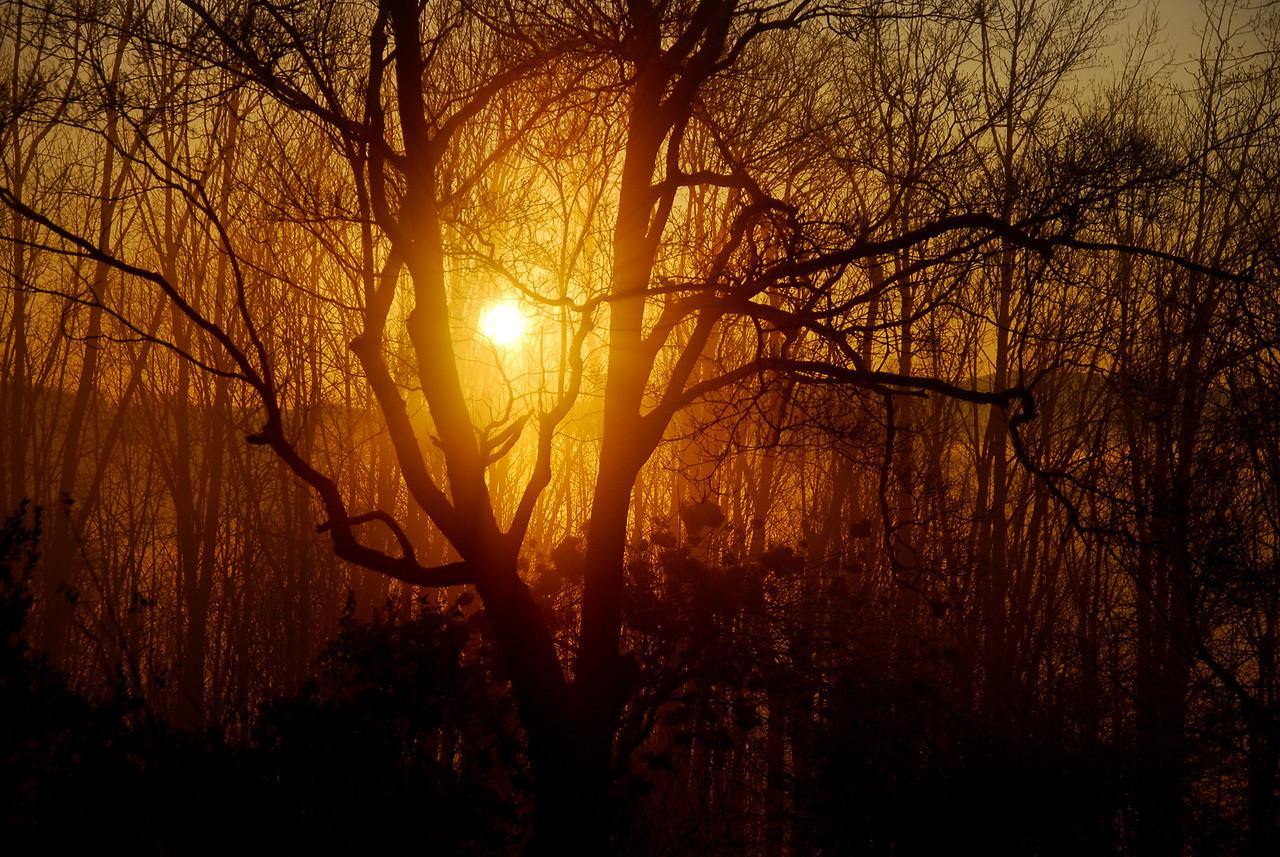 Sunrise over Fort Patrick Henry Lake in Kingsport